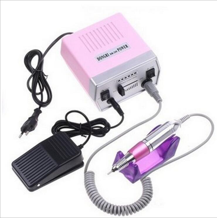 Conjunto De Manicura De Uñas Eléctrica Drill Pedicure Máquina De ...