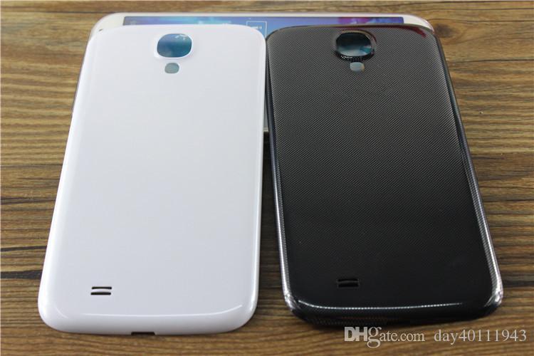 10pic / лот для Samsung Galaxy S4 i9500 I9505 I337 I9505 корпус задняя крышка батареи задняя крышка корпуса чехол Бесплатная доставка белый / черный