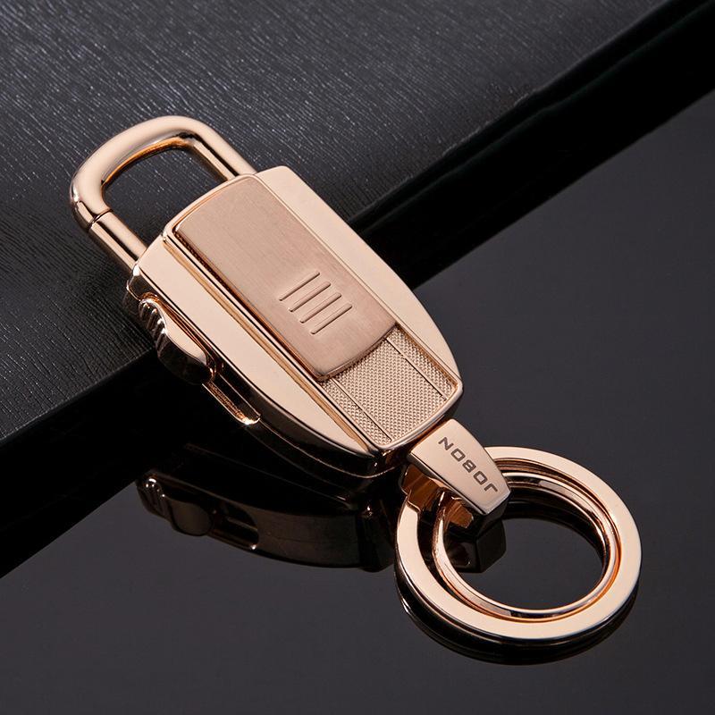 Jobon Anahtar Zincirleri USB Çakmak Anahtarlık USB Sigara Çakmak Hediye Anahtar zincirleri USB Çakmak Isıtma Tel Ateşleme