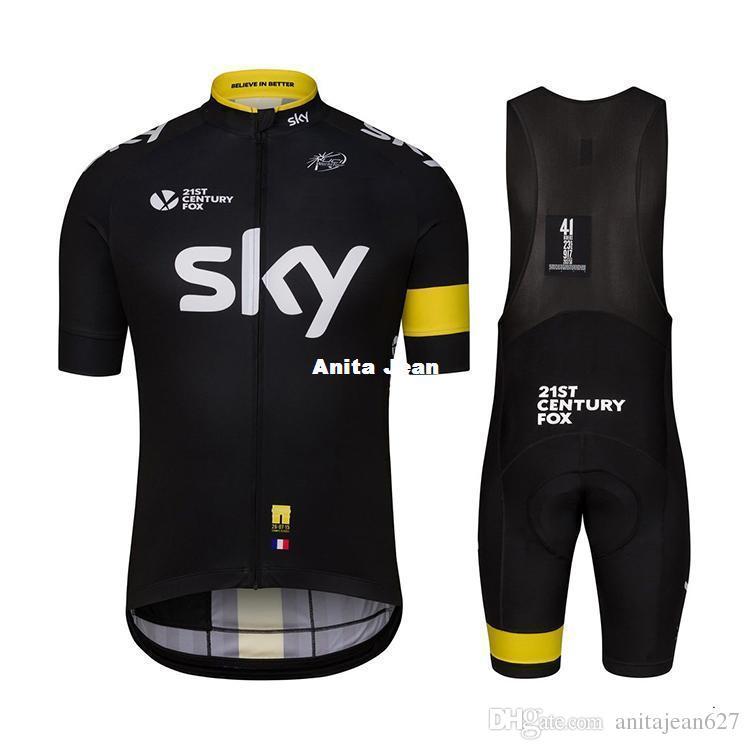 Team Sky Cycling Clothing 2016 Cycling Jerseys Shirt Bicycle Top Jerseys  Cycling Wear Top Jersey Tour De France Size XS 4XL Mtb Jersey Cycling Kits  From ... 41ac74841
