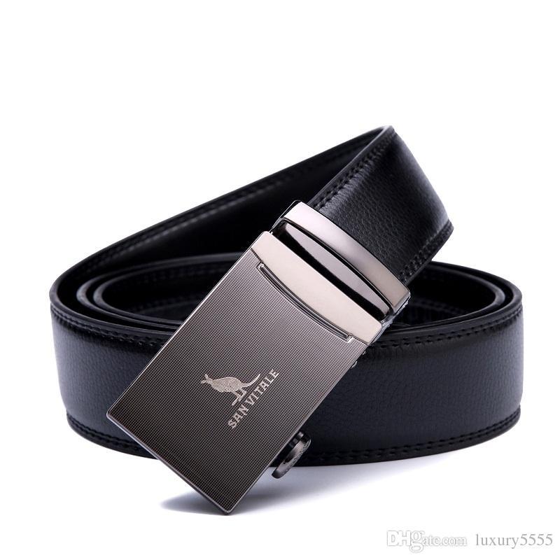 950968144dd Compre Cinturones De Hombre Cuero Genuino Correa De Lujo Cinturón Masculino  Para Hombre Hebilla Fancy Vintage Jeans Cintos Masculinos Ceinture Homme A  ...