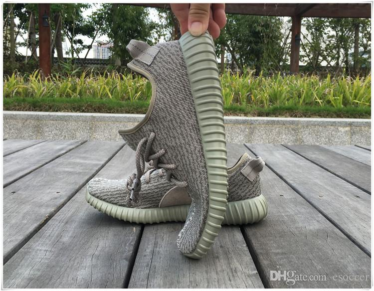 2616ba4b3 2019 Kanye West Boots Moonrock Kanye West Shoes Fashion Men   Women Oxford  Tan Turtle Dove Pirate Black Boots With Receipt And Box From Esoccer