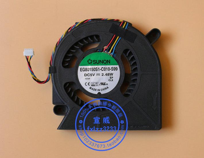 Nouveau ventilateur de refroidissement pour ordinateur portable Sunon EG80150S1-C010-S99 DC5V 2.48W