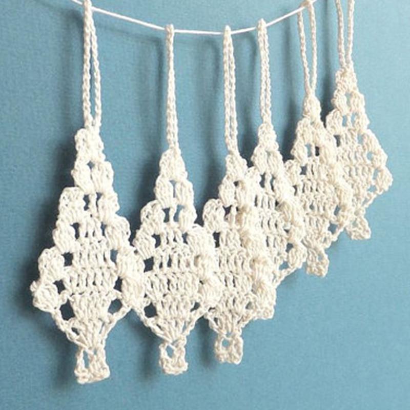 Grosshandel Handgemachte Hakeln Christbaumschmuck Urlaub Ornamente