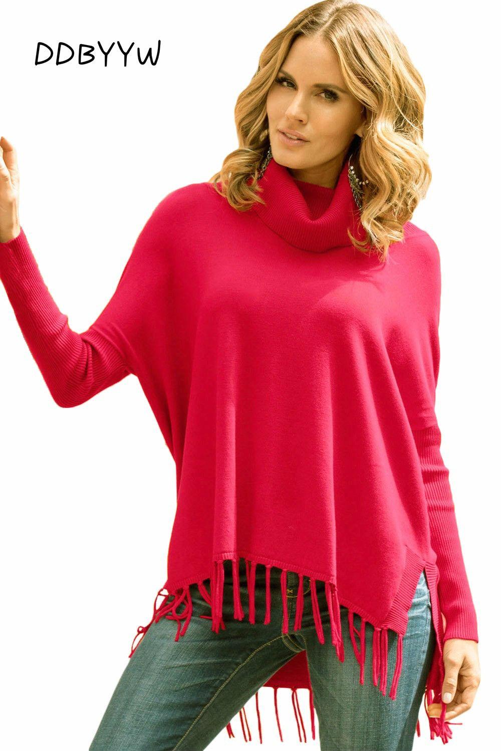 Ladies Black Tunic Sweaters