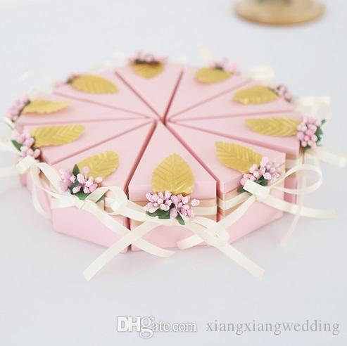 European Style Wedding Supplies Favor Holders Chocolate Box Candy Box Pure Hand-made Beautiful and Fashion Design