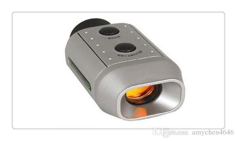 US Portable Mini Digital 7x Golf Scope Range Finder Distanza 1000m con caso imbottito più nuovo