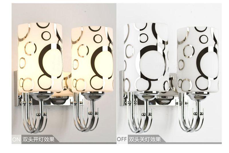 Yeni Geliş Duvar Işık Modern Basit Stil Kristal LED Başucu Duvar Lambası Yatak Odası Aplik Işık Montaj # 14