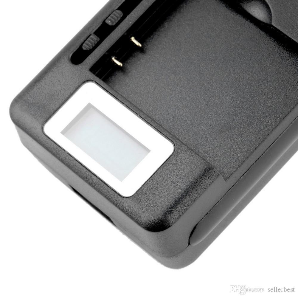 AD-11 AD-07 4.2V 600mah 모바일 범용 배터리 충전기 LCD 표시기 화면 USB 포트 1250MA 출력 휴대 전화 LG Nokia Samsung Canno