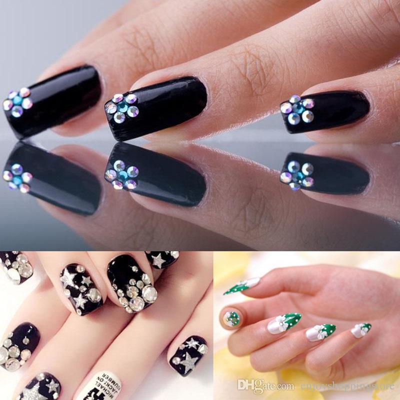 G122 Nail Art Rhinestone Gel Glue Use For Nail Tips Decoration ...