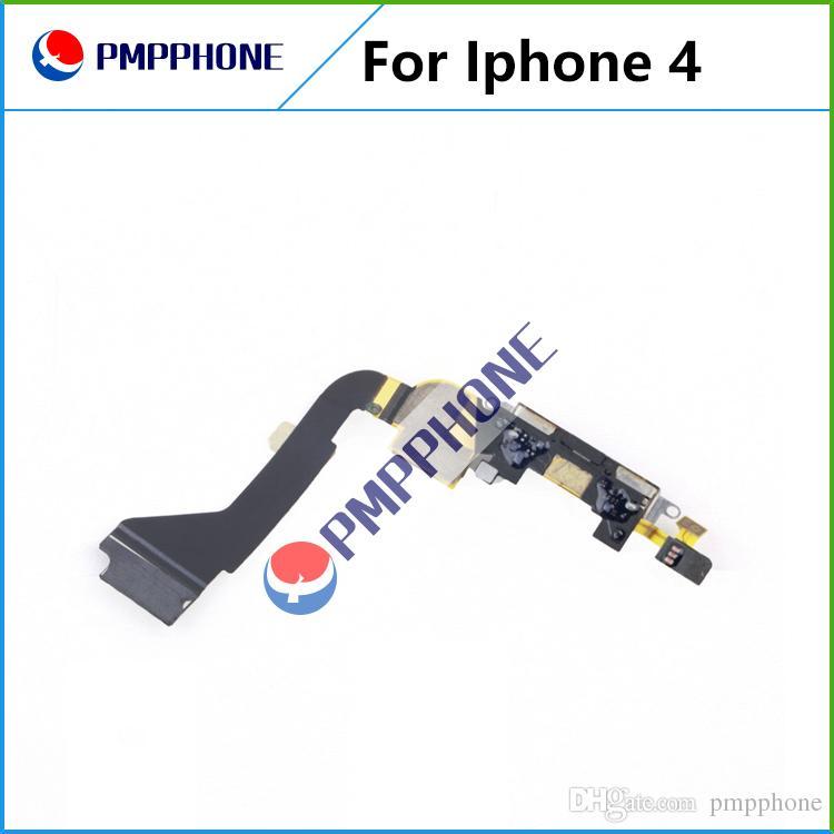 Negro de carga del puerto de conector Dock Flex iPhone 4 para el cable USB Puerto del cargador con Flex Cable