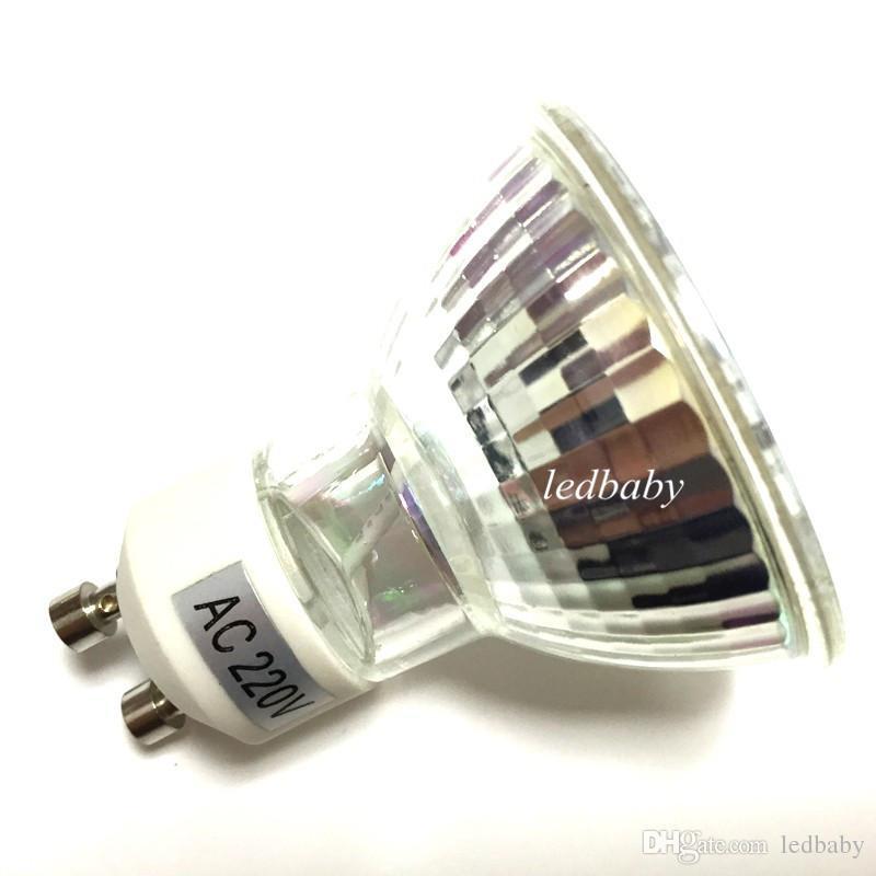 LED Lampe GU10 6W AC 220V 110V 5050 SMD Ampulle LED Strahler Bombillas 29 LEDS Glass Body Spot Licht für zu Hause Lampen
