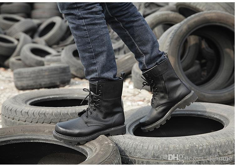 Bottes de sport en plein air Hommes Femmes Outdoor Militaire Addictive Sport Chaussure De Course Militaire Combat Tactique Martin Bottes