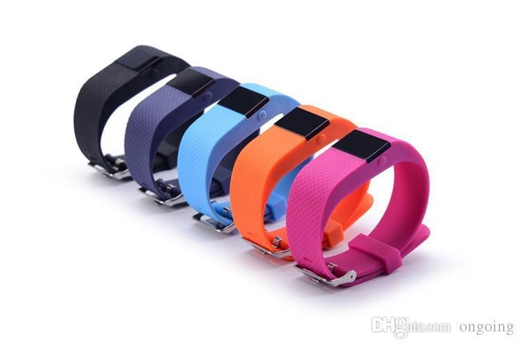 Freqüência Cardíaca de pulso SmartBand TW64S Pulso Inteligente Banda Pulse Medida Inteligente Banda Esporte Inteligente Pulseira de Saúde Rastreador de Fitness DHL livre