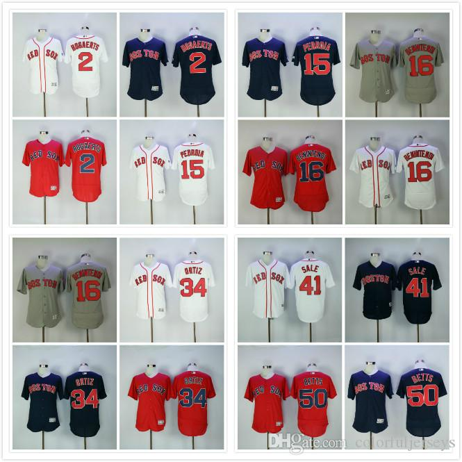 a99313f52da ... Mens Boston Red Sox Jersey 34 David Ortiz 15 Dustin Pedroia 50 Mookie  Betts 16 Andrew ...