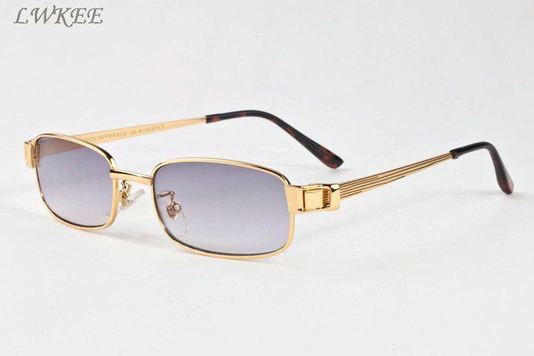cd59db12829bf Wholesale Designer Sunglasses For Women Silver And Gold Metal Full Frame Men  Brand Designer Sunglasses Gray Brown Clear Lenses Knockaround Sunglasses ...
