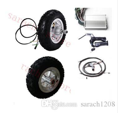 10 500W 24V electric scooter hub motor , electric wheelchair motor kit ,  electric skateboard conversion kit