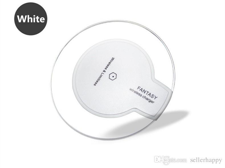 Qi drahtloses Telefonaufladegerät tragbares Fantasiekristalluniversal LED-Beleuchtungstablettaufladung für Samsung-Galaxie S6 S7 Rand