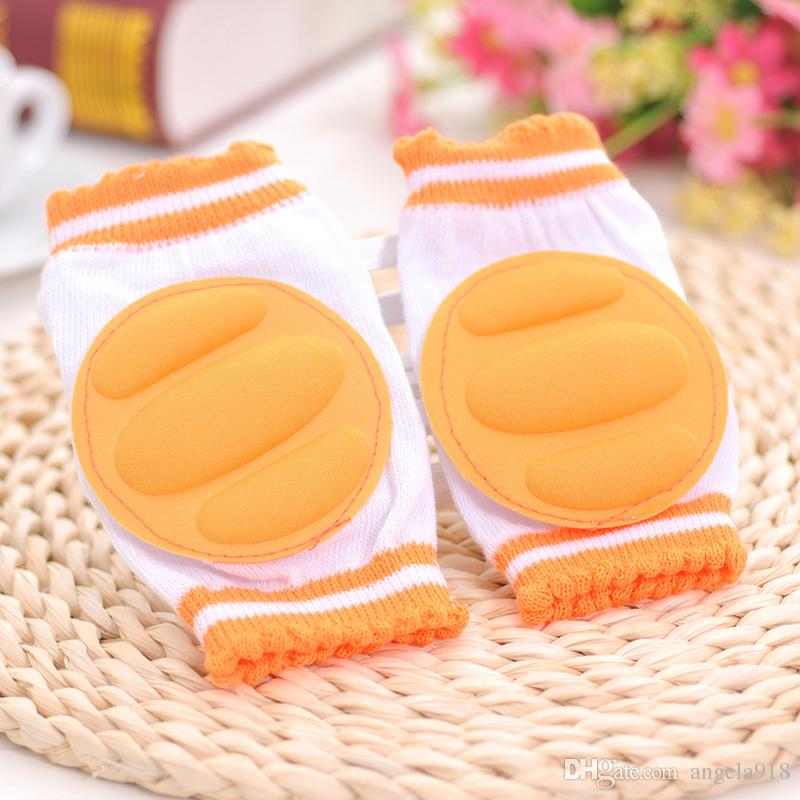 Baby leg guard toddler drop hip knee Cartoon children knee practical cases the baby boot cuffs breathe freely leg warmers E886