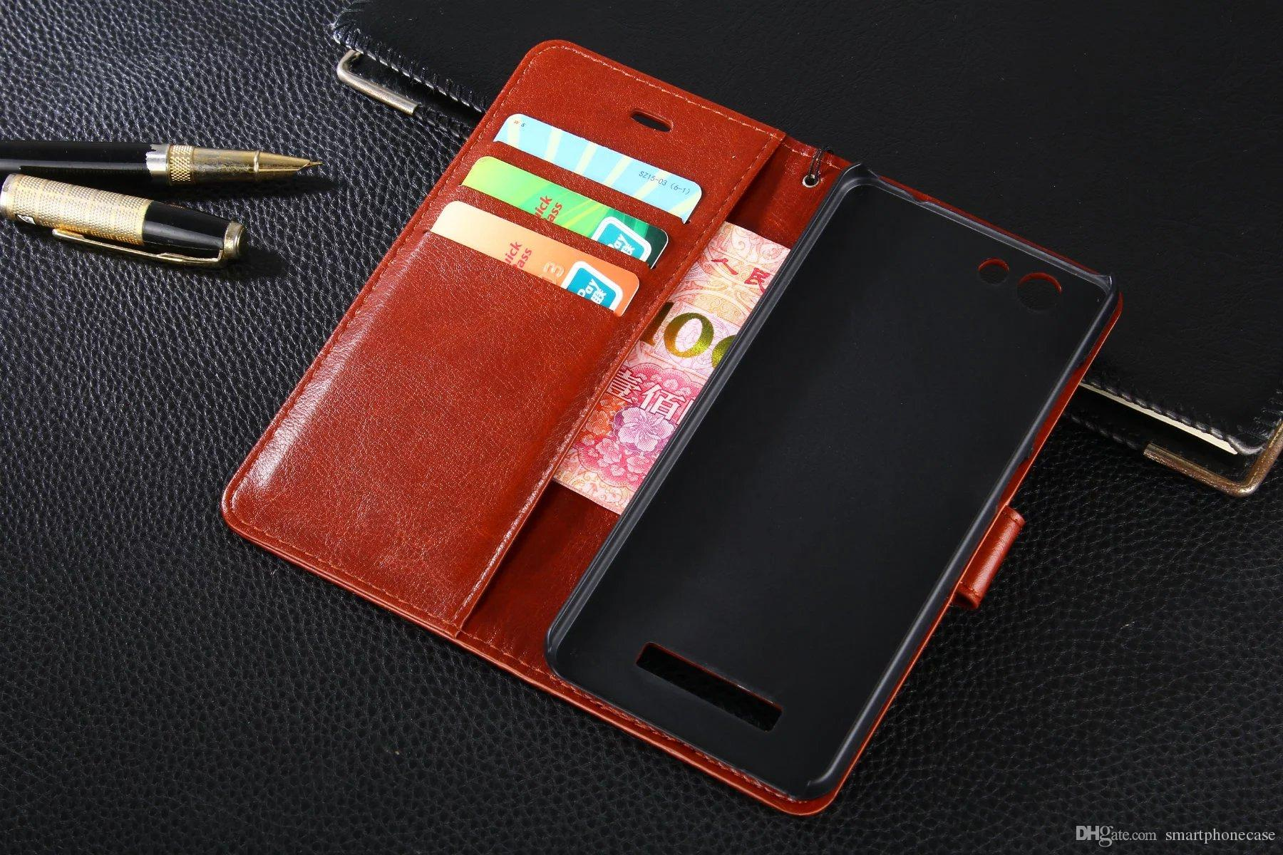 Gionee F103B 케이스 덮개를 위해 Gionee F103B를 위해 호화스러운 다채로운 본래 귀여운 호리 호리한 뒤꿈치 지갑 가죽 상자 덮개