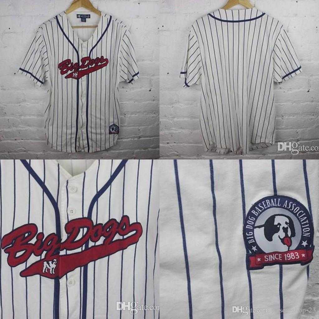 6e13b753a2f 2019 Custom Mens S 5XL Youth S XL BIG DOG Baseball Jersey Shirt 90s Dad  Rave Stitched Free Ship From Jersey Shop 23, $29.35 | DHgate.Com