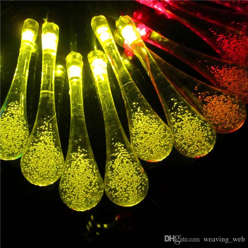 see larger image - Teardrop Christmas Lights
