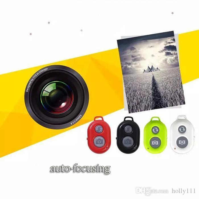 Bluetooth Selfie Self-pole Remote Shutter Smart phone Remote Camera Control Wireless Self-timer Shutters for Selfie Monopod Sticks ..