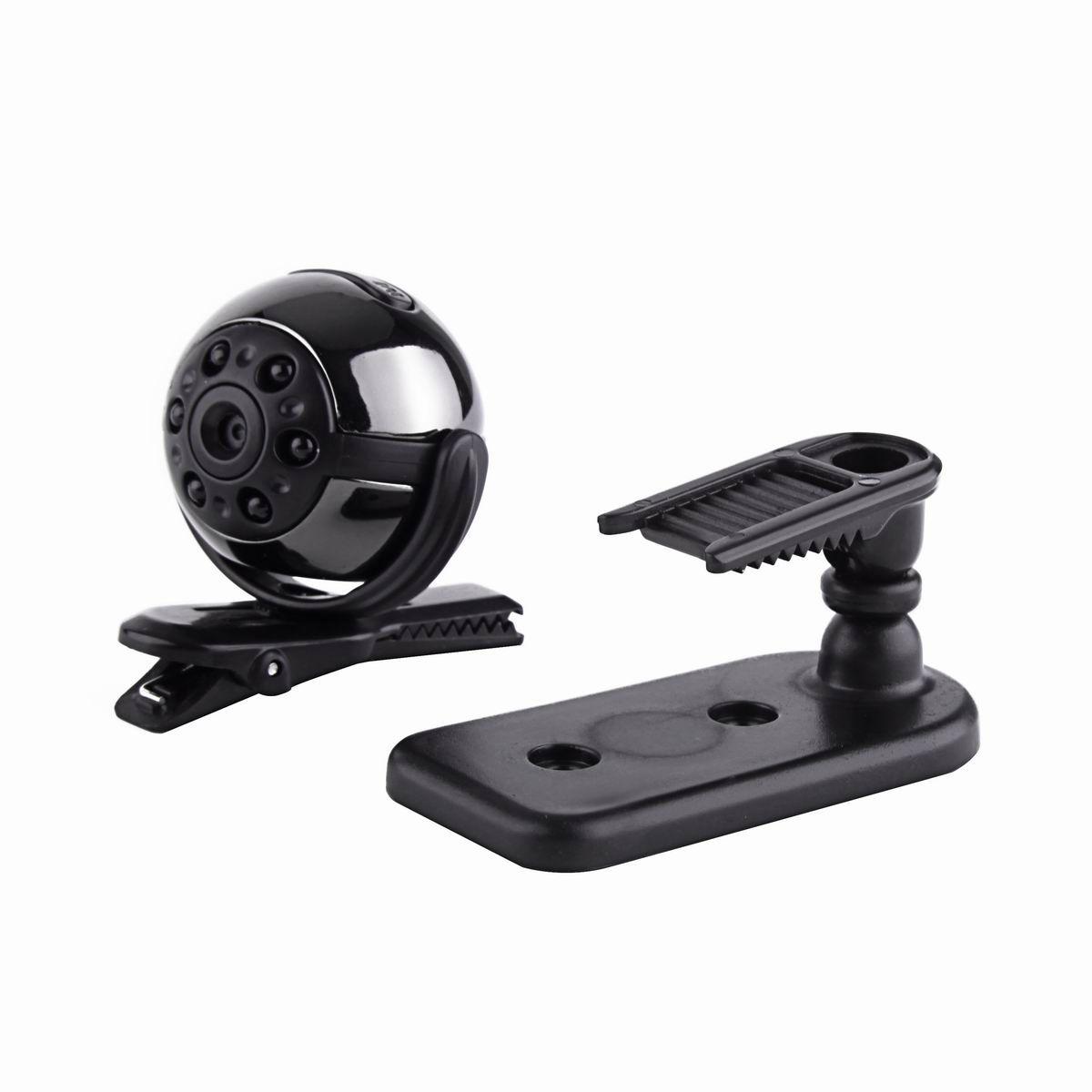360 degree View SQ9 Mini DV HD 1080P Sport Camera 12MP Car DVR Motion Detecting Video Multifunction Infrared lamp Voice Video Recorder