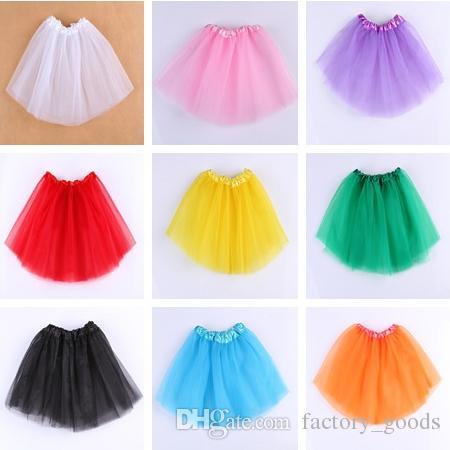 8f4ed5010 Niñas falda del tutú linda princesa falda corta de encaje de tul ballet  faldas cortas para niños vestido de baile ropa 781