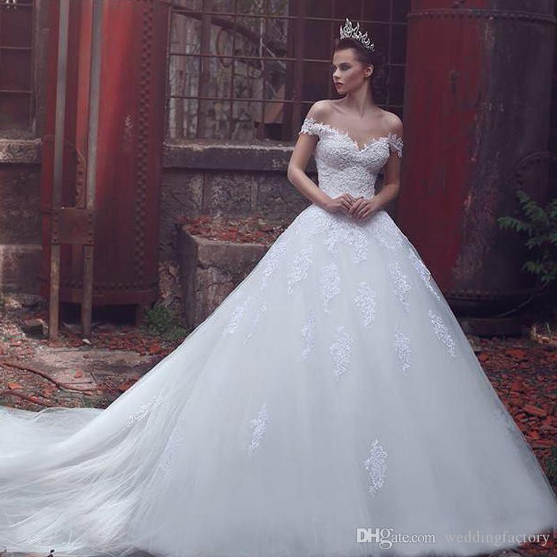 Modest Wedding Dresses with Trains