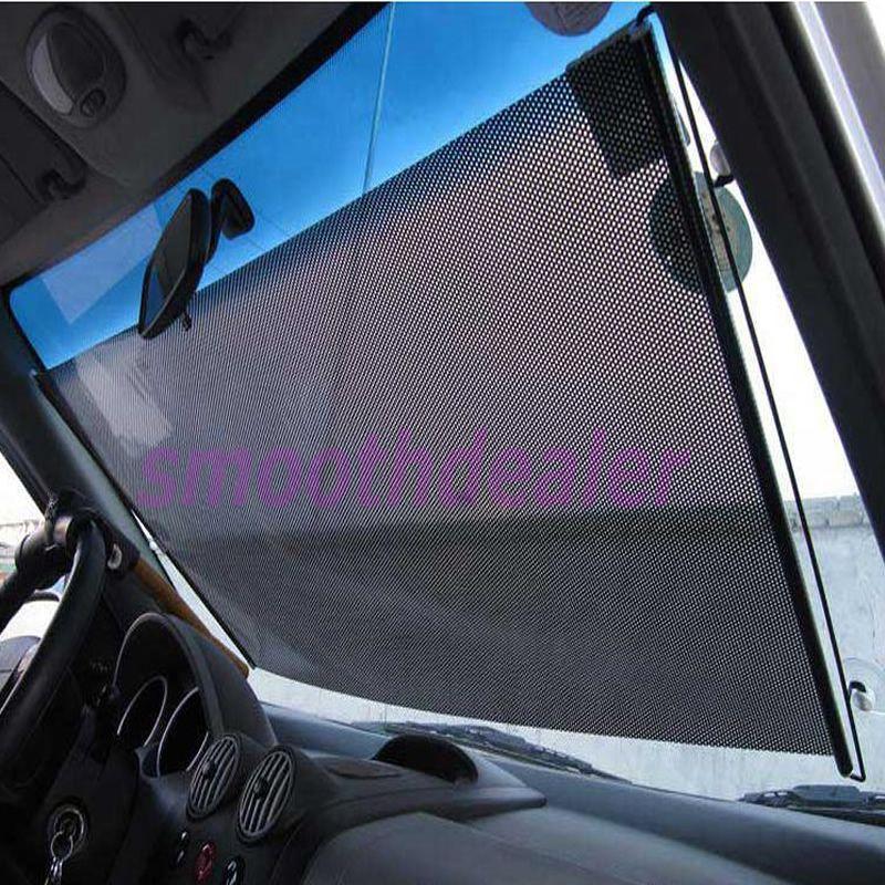 Wholesale Black Car Auto Window Roll Blind Sunshade Windshield Sun
