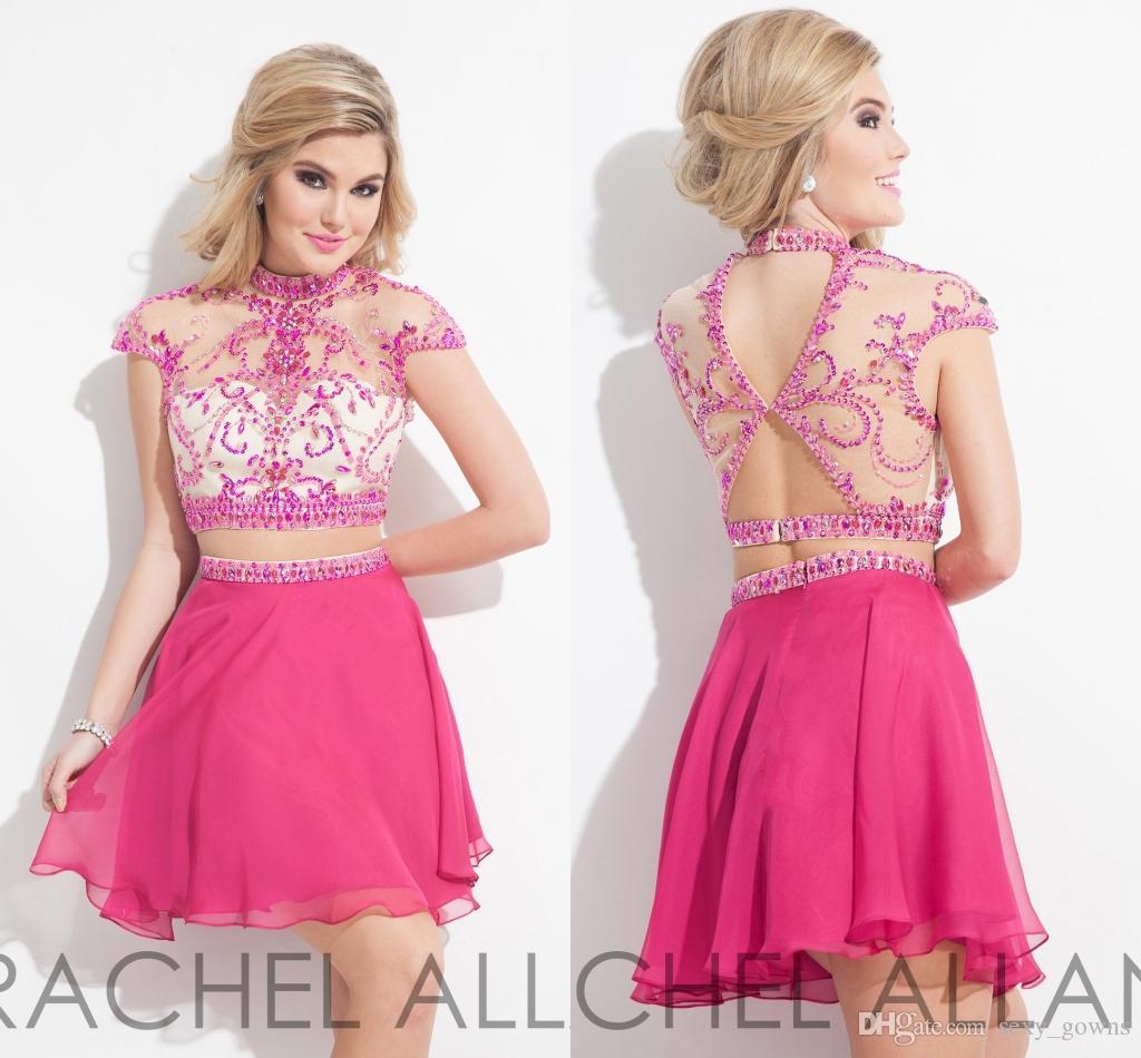 Compre Dos De Los Granos Unidades Rachel Allan Graduación Vestidos ...