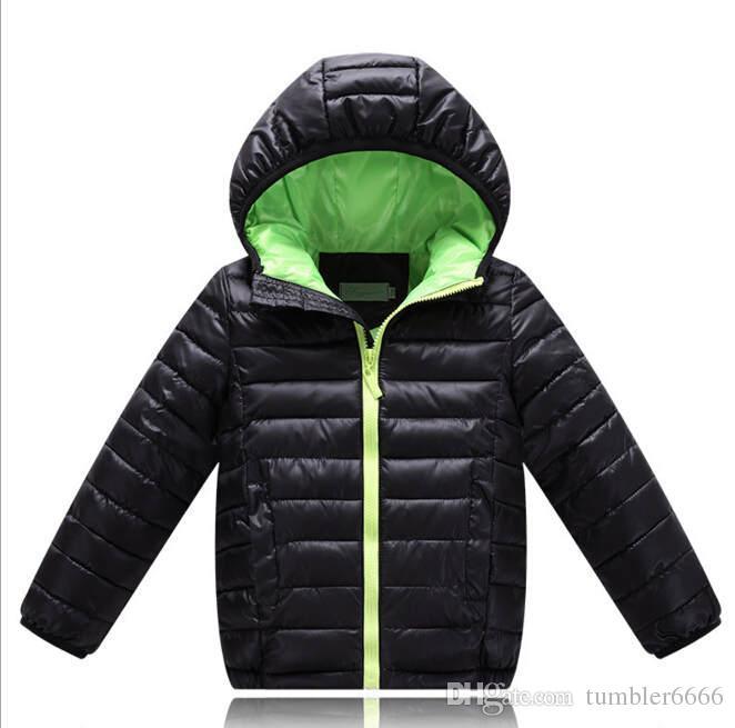 ddafc678c Boys Winter Coats Boys And Girls Cotton Warn Jacket Kids Long Sleeve ...