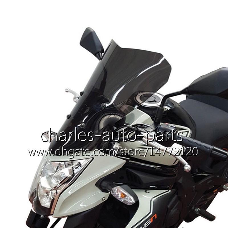 Parabrisas de la motocicleta WindScreen para Kawasaki ER-6N 12 13 14 15 16 ER6N 2012 2013 2014 2015 2016 Airflow Wind Flyscreen Deflector Protección