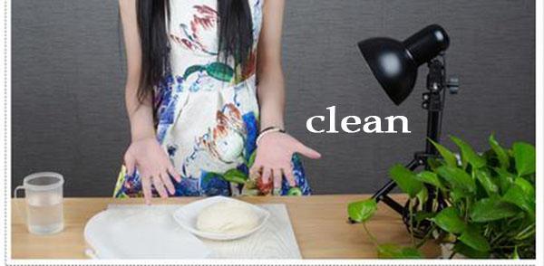 Silicone Dough Bag mélangeur de stockage de presse de cuisson tapis de cuisson 22 cm gâteau outils fondant texturé rouleau rouleau à pâtisserie planche à pâtisserie mélangeur de farine