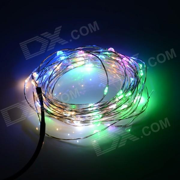 Wholesale 12v Outdoor Copper Wire String Fairy Lighting 10m 100 Led ...
