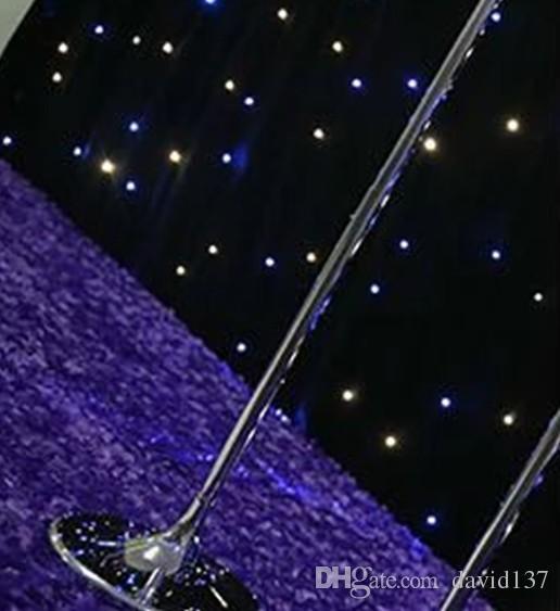 el soporte de flor cristalino de la moda elegante más última para 1112 centros de mesa de la boda