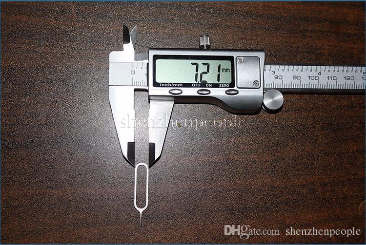 Новая игла Sim-карты для мобильного телефона смартфон сотовый телефон инструмент лоток держатель извлечения контактный металл