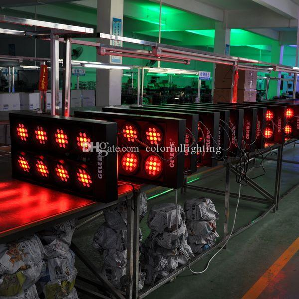 High power 96x3W 8 Eyes RGBW LED Blinder Light RGBW LED Audience Light for Stage