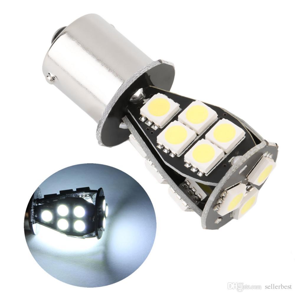 Качество CANBUS ошибка бесплатно 1156 BA15S 18 SMD 5050 LED сигнал P21W авто хвост тормоз стоп-сигнал лампа DC12V