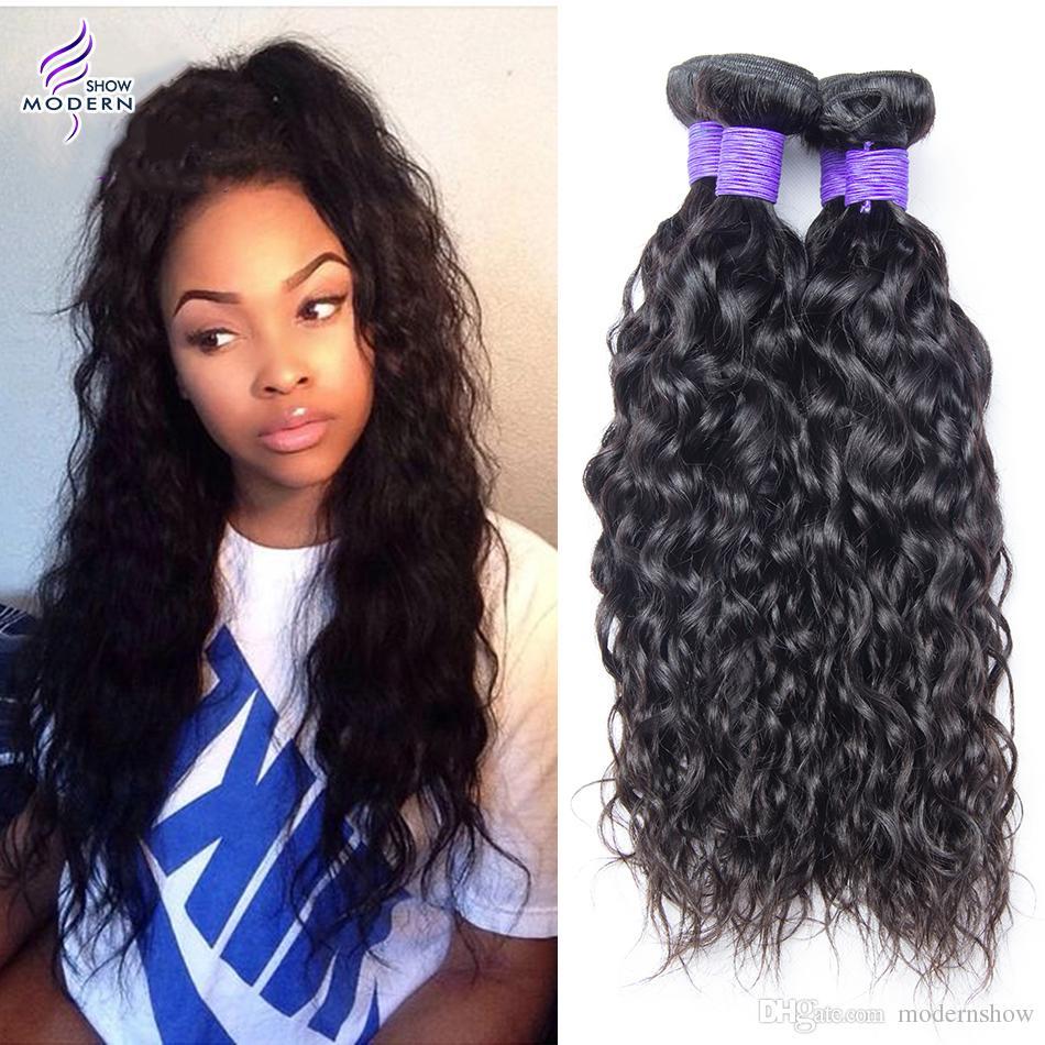 Virgin Brazilian Remy Hair Brazilian Water Wave Virgin Hair