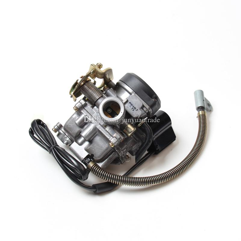 PD18J Carburetor 50CC Scooter Carburetor Moped Carb for 4-Stroke GY6 SUNL  ROKETA JCL Vento For GY6 50CC-110CC Scooter