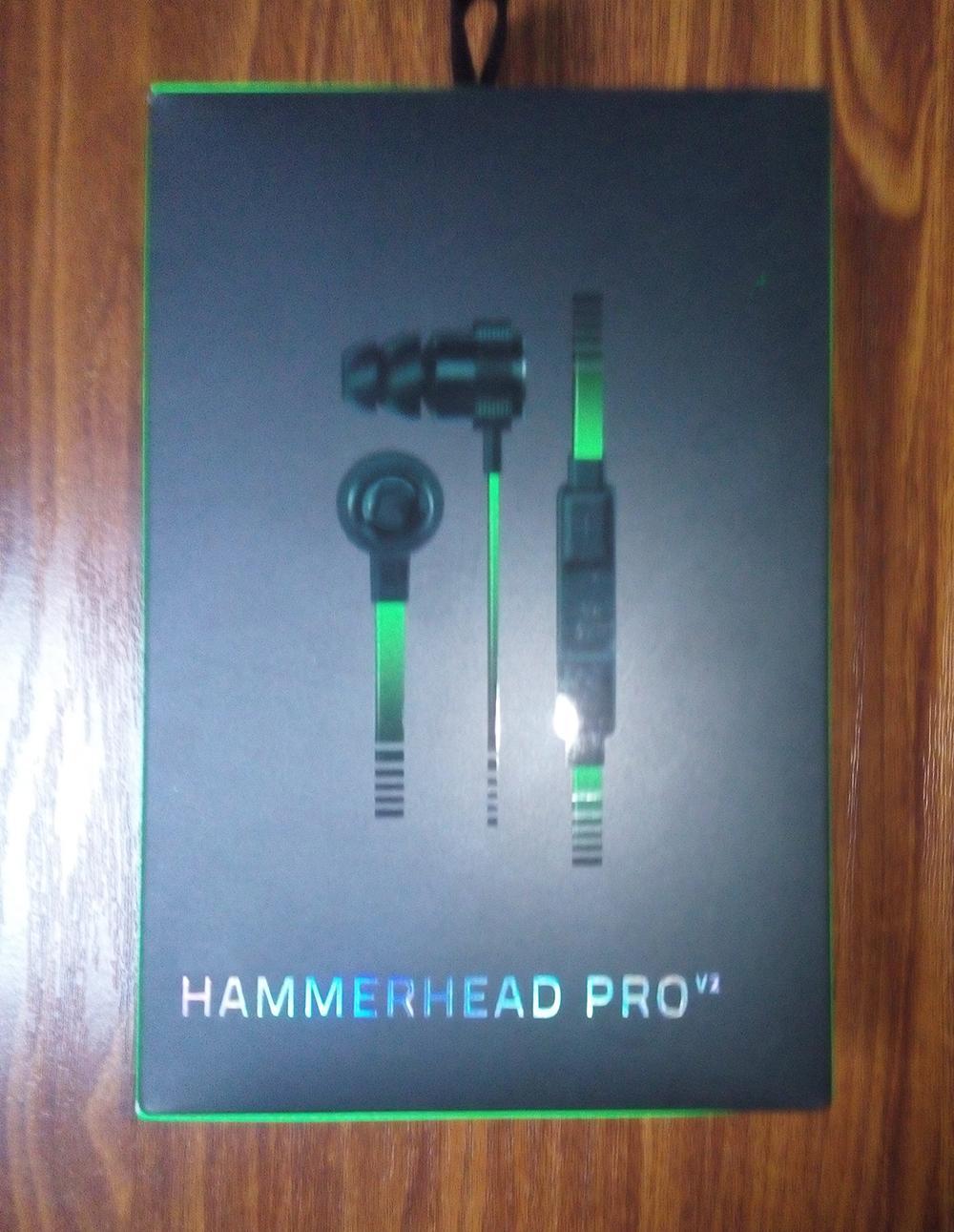 Hammerhead Pro V2 Kulaklık kulak kulaklık Mikrofon Ile Perakende Kutusu Ile Kulak Oyun kulaklıklar DHL Ücretsiz Kargo.