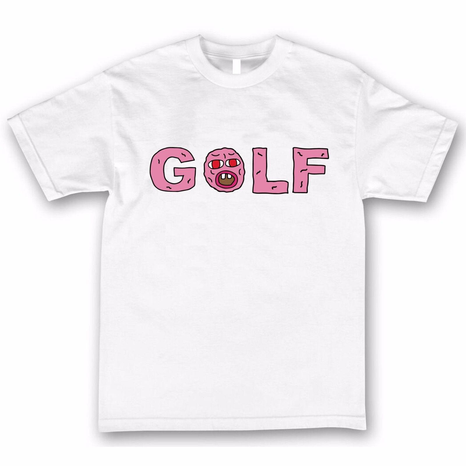 acb68f52f383 Tyler The Creator Golf T Shirt EARL Odd Future Cherry Bomb Wolf Gang OFWGKTA  OF T Shirt Summer Famous Clothing Offensive T Shirt T Shirt Slogan From ...