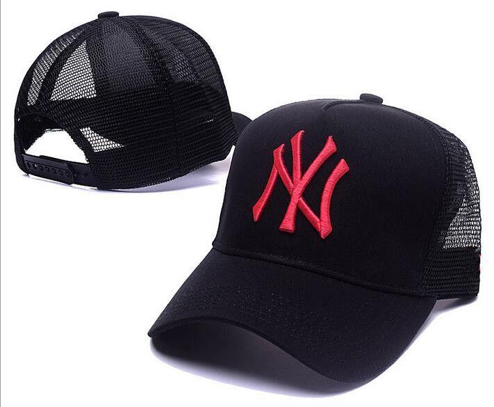34761e220da New Arrival Red YN Logo Mesh Adult Adjustable Casquette Baseball ...