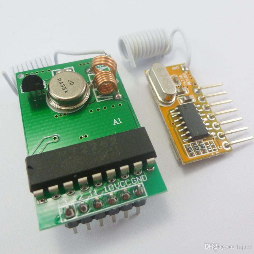 PT2262 encoder Arduino Decoder RF Transmitter Receiver Link Kit