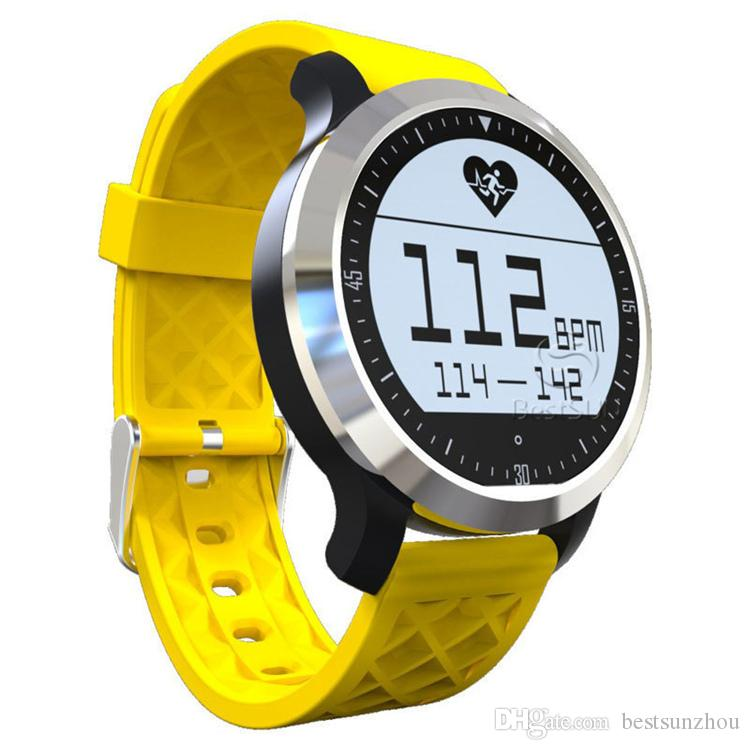 New item F69 Waterproof Smart Watch Professional IP68 Swimming Mode Intelligent Healthy Heart Rate Bracelet for IOS Android Phone
