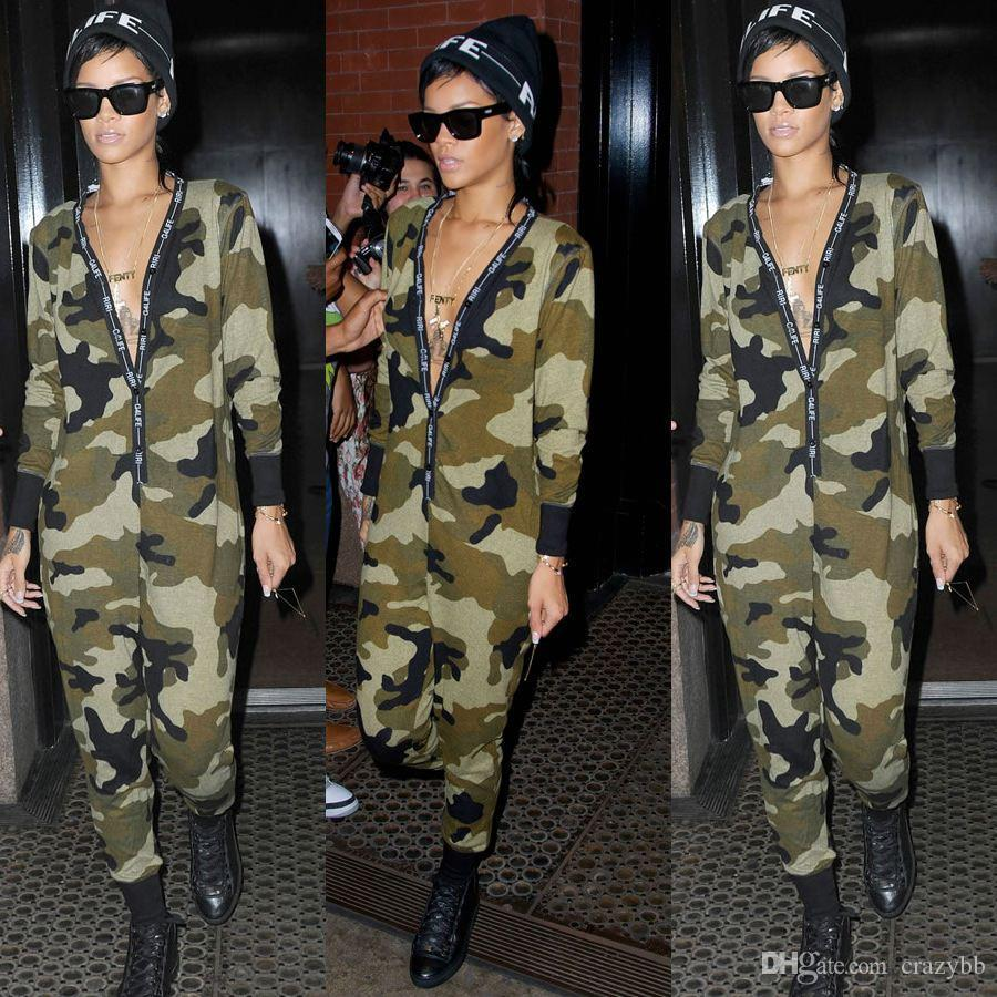 c317343c7288 New 2016 HOT Spring Cotton Woman Sexy camouflage Jumpsuits Wholesale  Rompers Bodysuits Women Casual Playsuits Rompers Catsuit