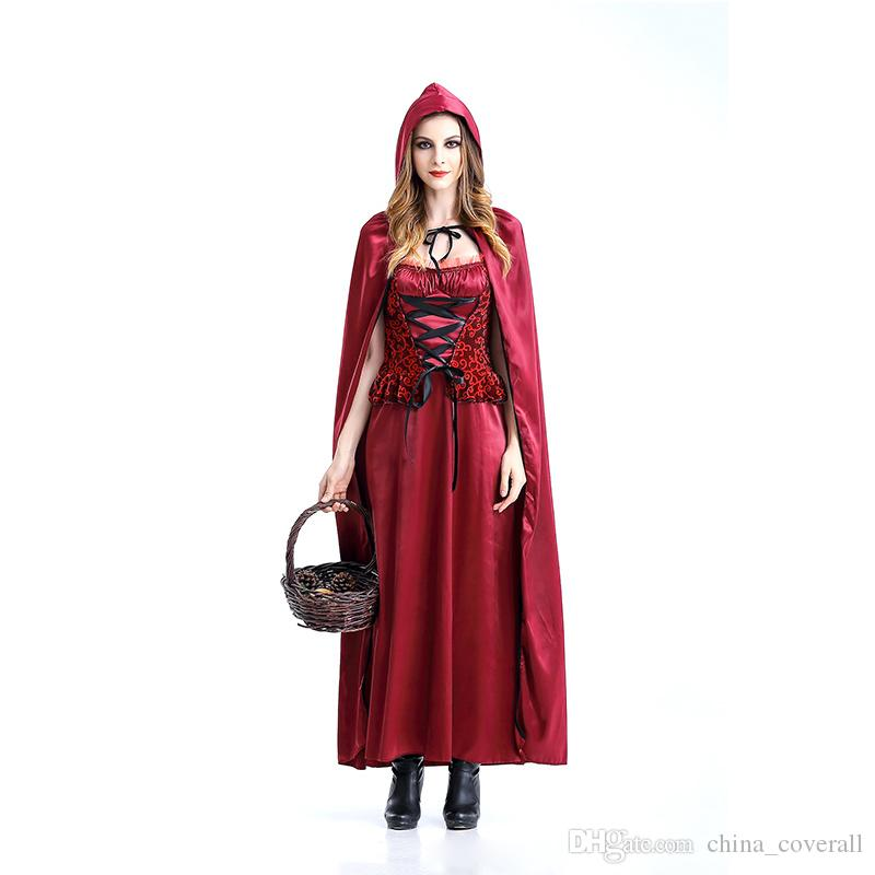 high quality halloween costumes costume party little red riding hood queen witch clothes halloween party theme costume popular halloween themes - Popular Halloween Themes