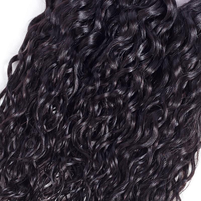 Ushine Chinesische Mongonlian Remy Menschliche Gerade Körper Welle Wasserwelle Menschliches Haar Bundles 100% Unverarbeitete Natürliche Farbe Kann Gefärbt werden